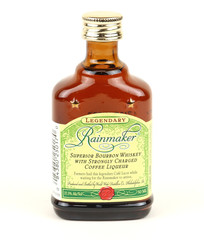 Bottle of Rainmaker Bourbon Whiskey