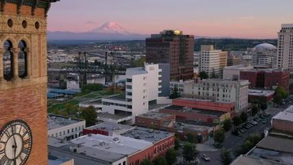 Fototapete - Tacoma Aerial