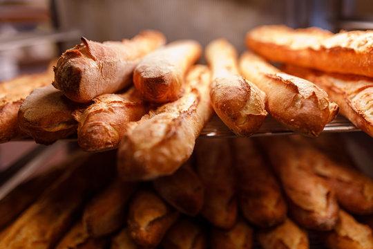 Brot in der Backstube