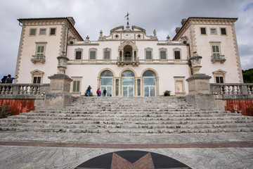 Vizcaya Museum in Miami - East Side - Waterfront