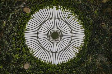 Vizcaya Museum and Gardens - Gazebo dome