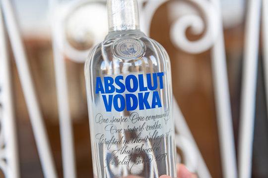 Absolute Vodka, illustrative editorial