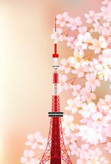 桜 春 東京 背景