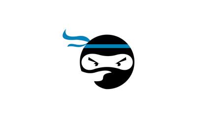 logo ninja vector