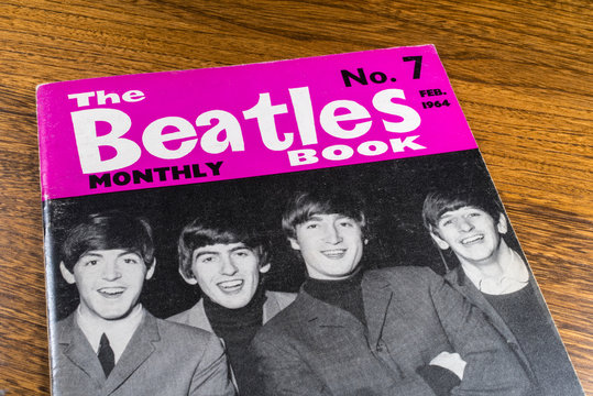 Vintage Beatles Monthly Book