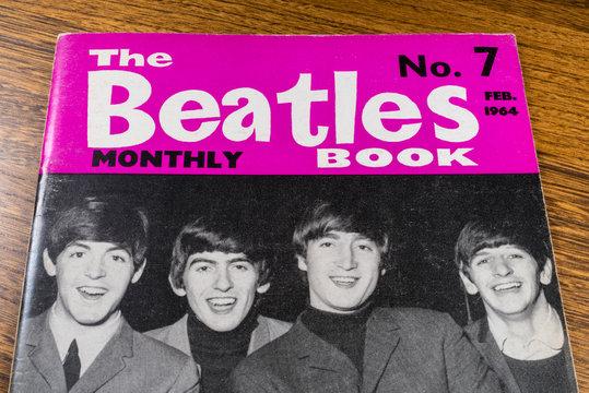 Vintage Beatles Monthly Book