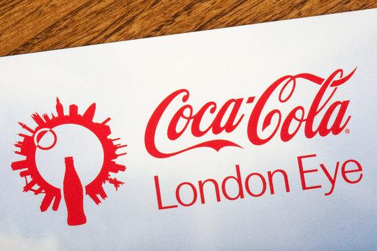 Coca Cola London Eye Logo
