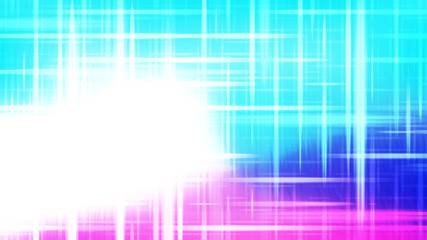 Wall Mural - Futuristic Glowing Pink Blue and White Light Lines Background Image
