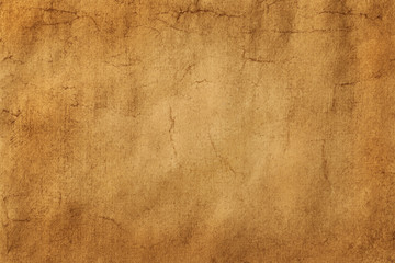 Top view of the ancient old surface of paper or parchment. Abstract trendy vintage grunge texture background