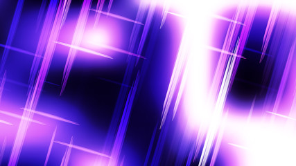 Wall Mural - Abstract Blue Purple and White Futuristic Glowing Stripes Background Design