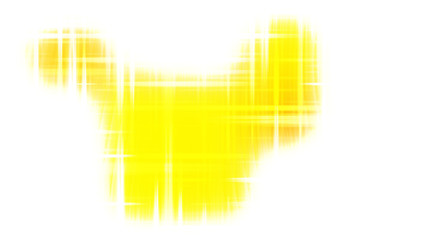 Wall Mural - Futuristic Glowing Yellow and White Light Lines Stripes Background
