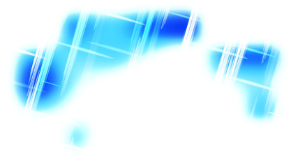 Wall Mural - Abstract Blue and White Futuristic Tech Glowing Stripes Background