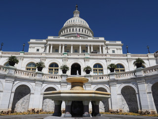 Capitol low angle image.