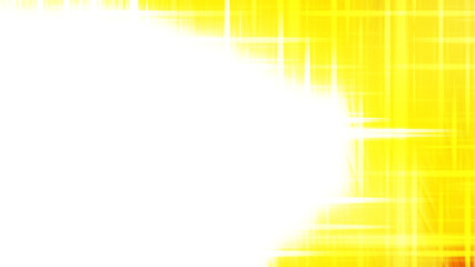 Wall Mural - Futuristic Glowing Yellow and White Light Lines Background Image