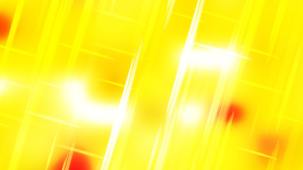 Wall Mural - Abstract Yellow and White Futuristic Tech Glowing Stripes Background Image