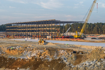 Construction of a Commercial Building in Stone Mountain, Georgia