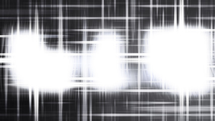 Wall Mural - Futuristic Black and White Light Abstract Background Design