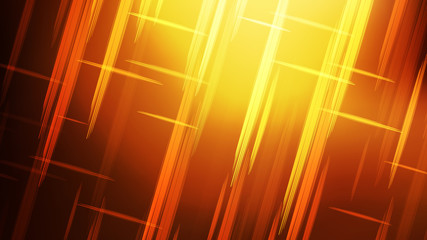 Wall Mural - Abstract Red and Yellow Futuristic Tech Glowing Stripes Background Image