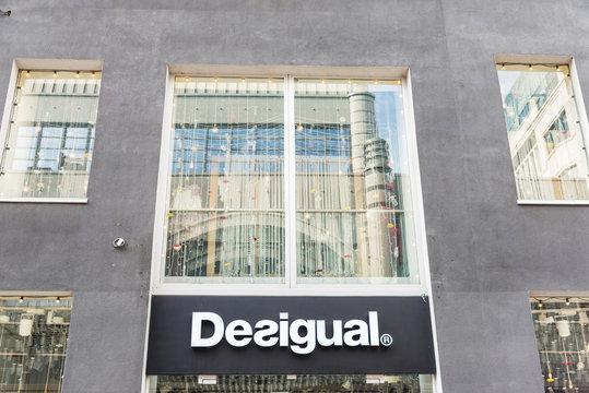 Desigual shop in Brussels, Belgium