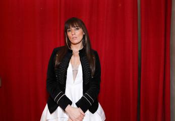 Designer Myriam Chalek stands for a portrait before presenting the first Ryan's Secret men's underwear collection during New York Fashion Week