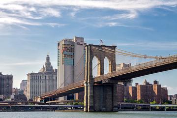 Printed kitchen splashbacks Brooklyn Bridge brooklyn bridge and lower manhattan