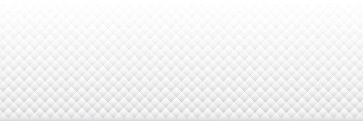White grey abstract background with square shape pattern. vector for presentation design. Suit for business, corporate, institution, party, festive, seminar, and talks.. Wall mural