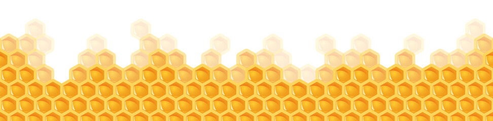 seamless honey comb background