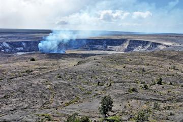 Kīlauea -  an active shield volcano in the Hawaiian Islands