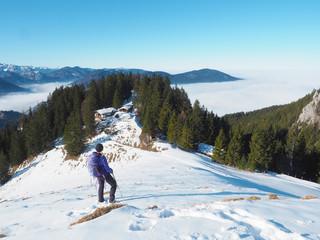 Winterwandern auf den Schweinsberg (Fischbachau)