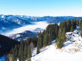 Winterwandern auf den Schweinsberg (Bayern)