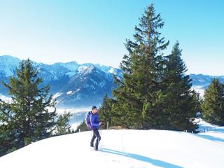 Winterwandern auf den Schweinsberg - Bayern