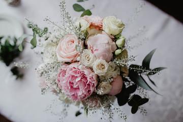 Obraz bukiet, bukiet ślubny, wedding, ślub, wesele - fototapety do salonu