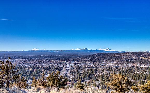 Bend Oregon Blue Sky Day