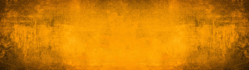 Abstract dirty rustic orange texture background banner panorama