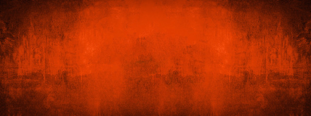 Abstract dirty rustic fire red texture, trend color 2020 Fototapete