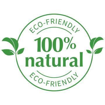 100% natural eco-friendly seal