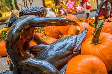 Rockefeller Center in New York - Fall