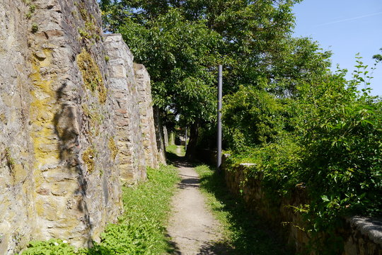 Stadtmauer Zwingerrundweg Nabburg