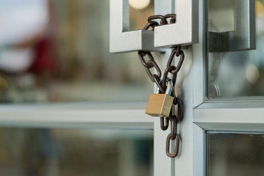 lock the door, door rocker background