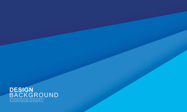 Paper layer blue abstract background. Use for banner, cover, poster, wallpaper, design with space for text.