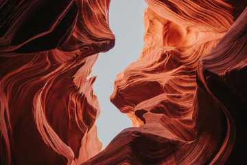 Photo sur Aluminium Brique Antelope Canyon