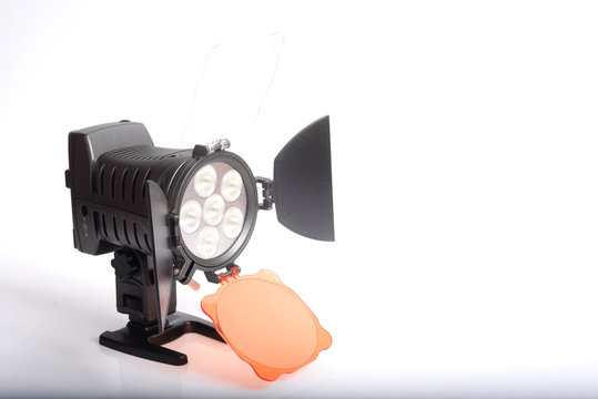 LED light for video and photography production