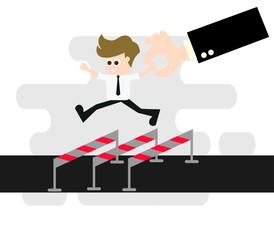 business man concept ,Vector illustration.