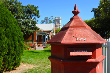 Old post box in Guildford Western Australia