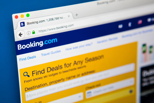 Booking.com Website