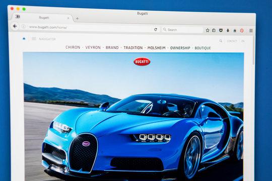 Bugatti Official Website