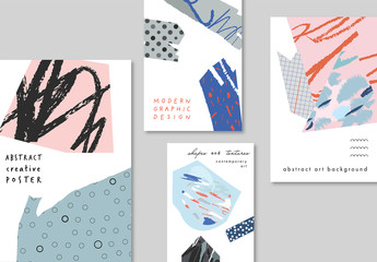 Creative Posters Layout Set