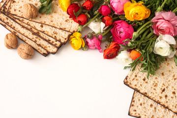 Pesah celebration concept (jewish Passover holiday