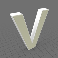 Letters Simple V