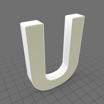 Letters Simple U